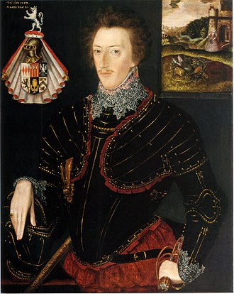 Edward Hoby - Sir Edward Hoby by an unknown artist, 1583