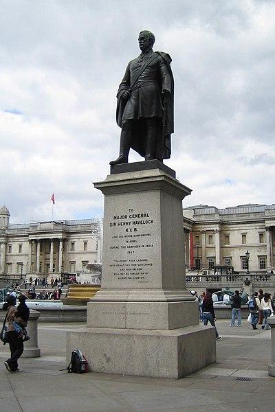 Image:Sir Henry Havelock Statue Trafalgar Square 2006-04-17.jpg