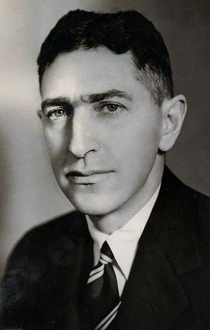 Hudson Fysh - A portrait of Wilmot Hudson Fysh ca. 1935