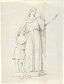 """Sketch of One Statue- """"Guardian Angel"""" MET DP804247.jpg"""