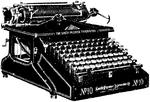 Skrifmaskin, Smith Premier-maskin, Nordisk familjebok.png