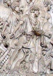 Slingers on Trajan's Column