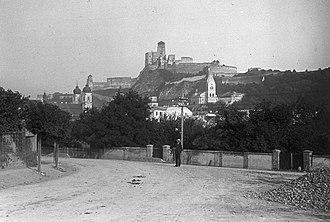 Trenčín - Trenčín in 1908