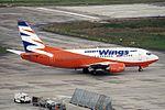 Smart Wings (Lufthansa) Boeing 737-530 OK-SWY (21649819723).jpg