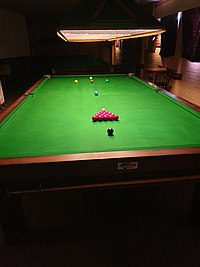 Snooker table as seen from bottom cushion.jpg