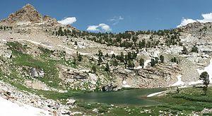 Snow Lake (Nevada) - Image: Snow Lake NV