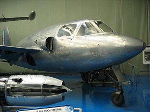 """SO.6000 Triton n°3 exposé au """"Musée de l'Air et de l'Espace"""" au Bourget"""