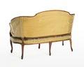 Soffa, bakifrån, 1700-talets mitt - Hallwylska museet - 110085.tif
