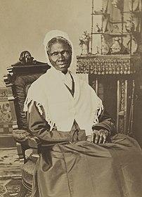 L'abolitionniste afro-américaine Sojourner Truth, vers 1870. (définition réelle 3035×4210)