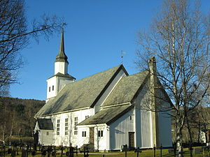 Soknedal Church - Image: Soknedal kyrkje 01