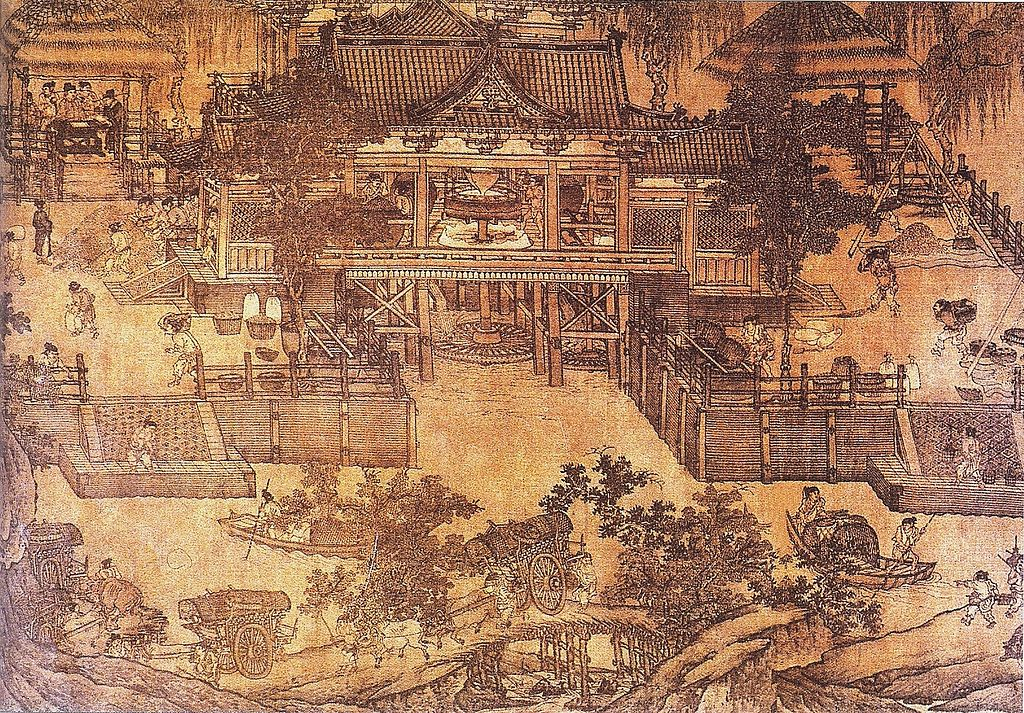 File song dynasty grain wikimedia commons for Dynasty mural works