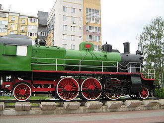 FC Lokomotiv Nizhny Novgorod - A historic steam locomotive celebrates Nizhny Novgorod's railway legacy