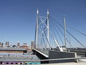Nelson Mandela Bridge - Image: South Africa Johannesburg Nelson Mandela Bridge 001