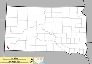 South Dakota Highway 471 state highway in Fall River County, South Dakota, United States