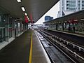 South Quay DLR stn look southbound.JPG