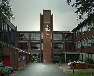 Codsall - Image: South Staffordshire Council Offices Codsall