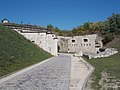 South entry road, Fort Monostor in Komárom, Hungary.jpg