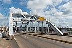 South view of Arch of Edmund Pettus Bridge, Selma AL 20160713 1.jpg