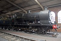 541 in the engine shed before overhaul
