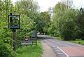 Southwater Village sign, Southwater St - geograph.org.uk - 1292219.jpg