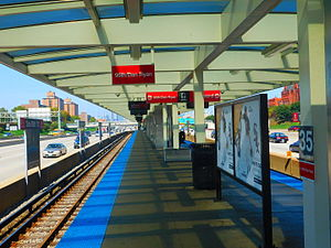 Sox–35th station - Image: Sox 35th Street Station