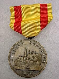 Spanish Campaign Medal, Navy, Obverse.jpg
