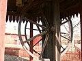 Spelhjul till linspelen vid Falu koppargruva.JPG