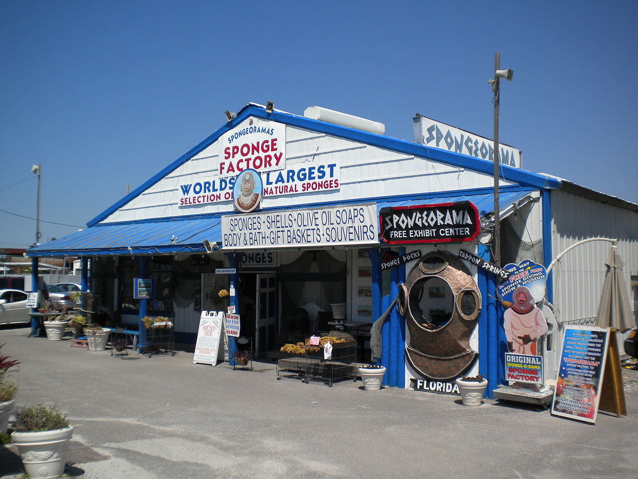 Downtown Tarpon Springs Florida Restaurants