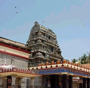 Sree Sharadha temple, Shringeri, India.