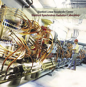 Stanford Synchrotron Radiation Lightsource - Photograph inside the SSRL accelerator ring.