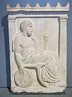 Stèle funéraire de Sosinos (Louvre, Ma 769).jpg