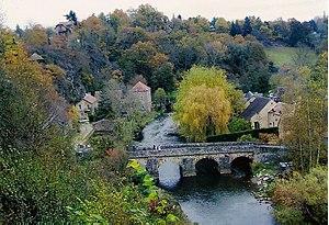 Saint-Céneri-le-Gérei - Bridge over the River Sarthe