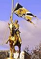 St. Joanie on a Pony! Who Dat!.jpg