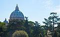 St. Peter's from the Vatican Gardens, Sept. 2011 - Flickr - PhillipC.jpg