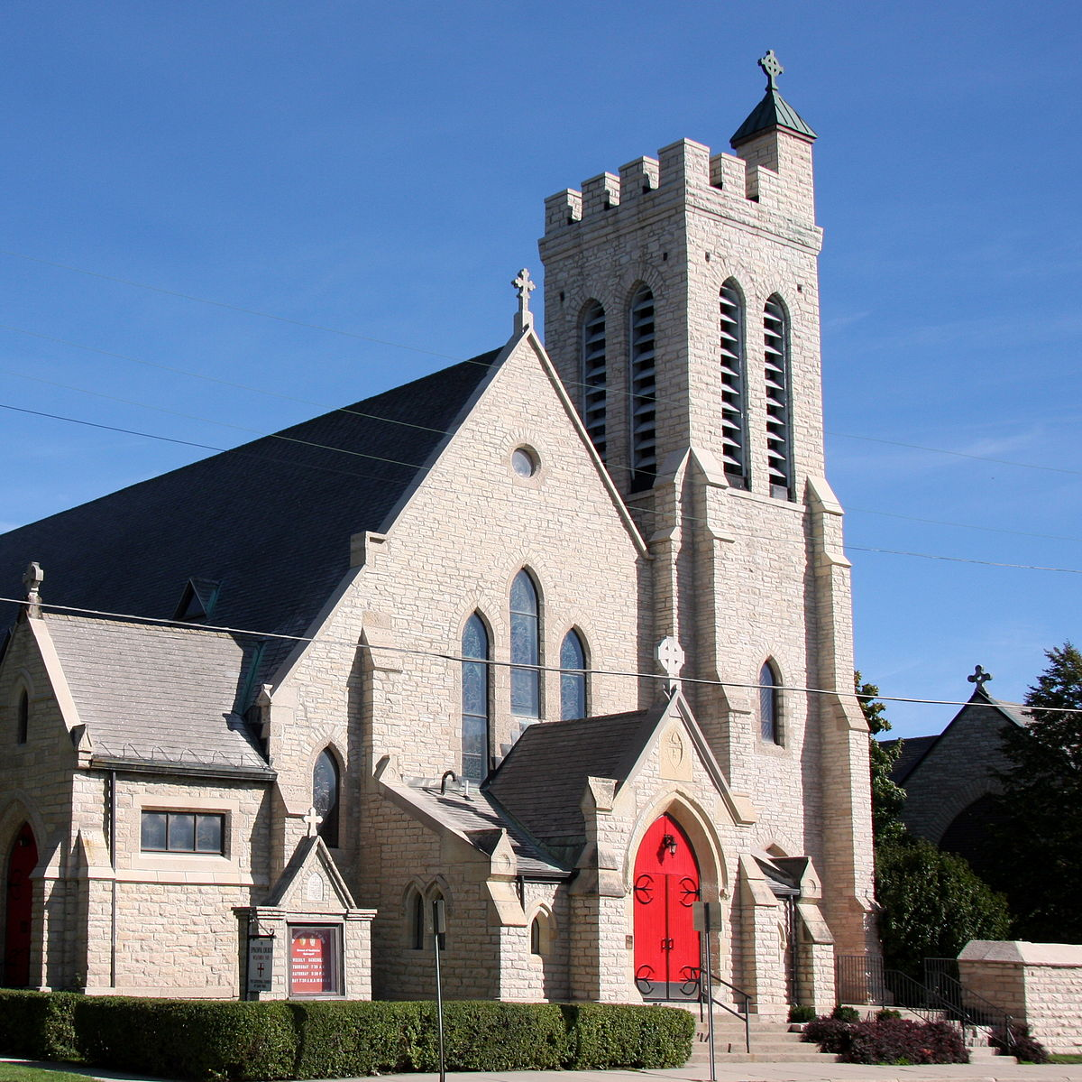 Fond Du Lac Wi >> St. Paul's Cathedral (Fond du Lac, Wisconsin) - Wikipedia