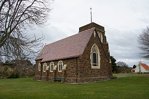 Maheno, New Zealand - St Andrew's Church in Maheno
