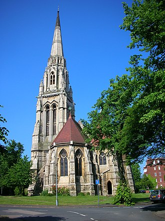 J. A. Chatwin - St Augustine's Church, Edgbaston, 1868.