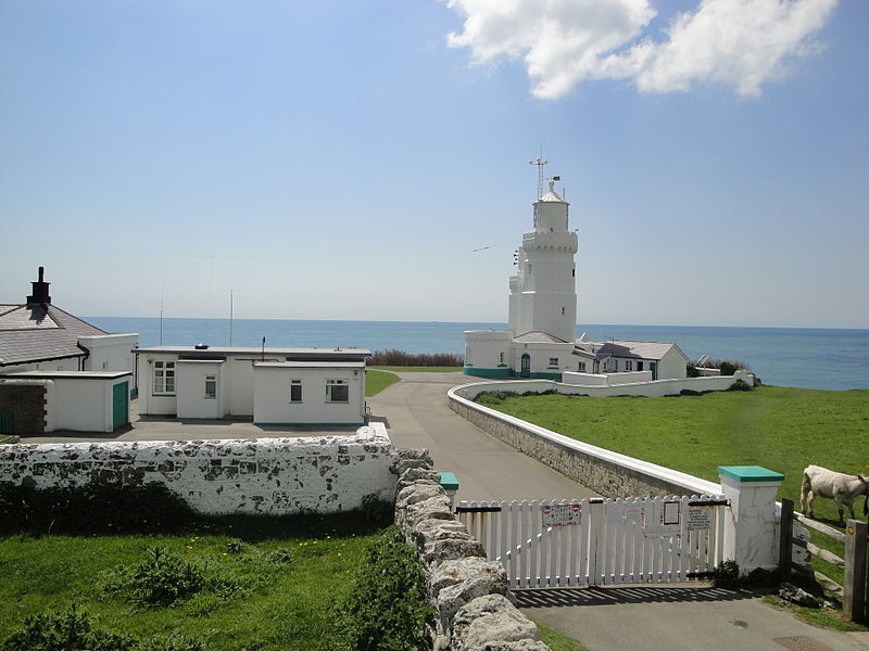 File:St Catherine's Lighthouse entrance.JPG