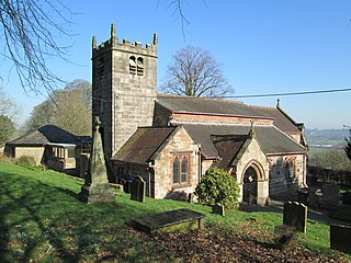 Endon village in the United Kingdom