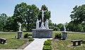 St Margaret of Hungary war memorial - Calvary Cemetery.jpg
