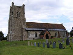 St Mary Magdalene C of E, Friston - geograph.org.uk - 1436210.jpg