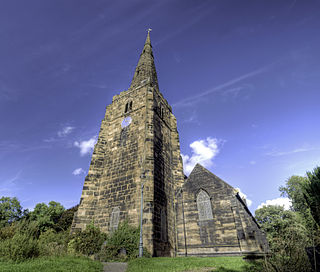 St Michael on Greenhill, Lichfield Church in Staffordshire, England