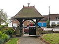 St Thomas, Northaw - lych gate - geograph.org.uk - 1330854.jpg