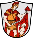 Das Wappen von Marktoberdorf