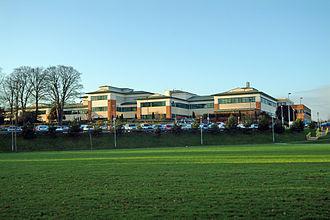 Stafford Hospital scandal - Stafford Hospital now renamed County Hospital
