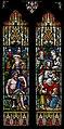 Stained glass window, All Saints' church, Upton cum Kexby, Lincs (18001763988).jpg