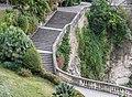Stairs in Jardins de la Fontaine in Nimes.jpg