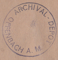 Stamp Offenbach Archival depot.png