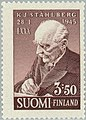 Stamp of Finland - 1945 - Colnect 45993 - Kaarlo Juho Stahlberg First President of State 80th Birthd.jpeg