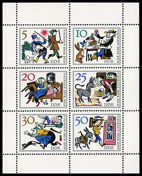 Stamps of Germany (DDR) 1966, MiNr Kleinbogen 1236-1241.jpg